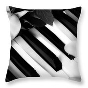 My Piano Throw Pillow