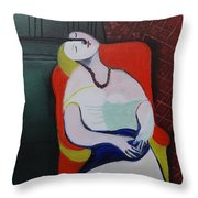 My Picasso, Le Reve 'print' Throw Pillow