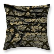 My Pretty Rock Wall Throw Pillow