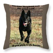 My Protection Throw Pillow