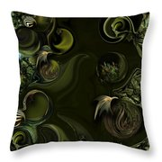 My Pure Meditation Throw Pillow