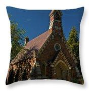 My Redeemer Lives Church Throw Pillow