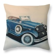 My Ride 2 Throw Pillow