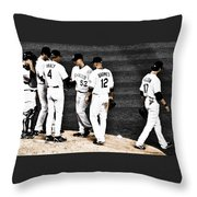 My Rock Collection - Colorado Rockies Throw Pillow