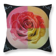 My Rose Throw Pillow