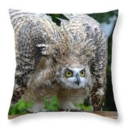 My Scary Look Throw Pillow