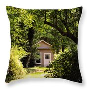 My Secret Dreaming Place Throw Pillow