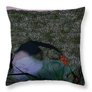 My Secret Place Throw Pillow