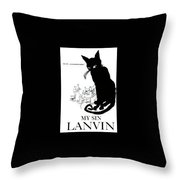 My Sin Throw Pillow by ReInVintaged