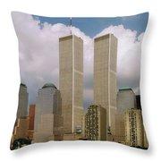 My Skyline Throw Pillow by Joann Vitali
