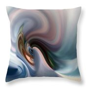 My Soft Atmosphere Throw Pillow