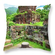 My Son Holy Land Throw Pillow by MotHaiBaPhoto Prints