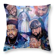 My Song Tribute To The Late Gerald Levert Throw Pillow