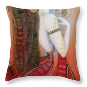 My Soul Is A Moan... Throw Pillow