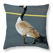 My Space... Throw Pillow