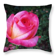 My Special Rose Throw Pillow
