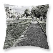 My Street II Throw Pillow