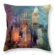 My Style Manhattan Throw Pillow