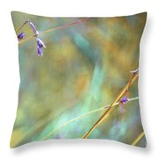 My Summer Painting Throw Pillow