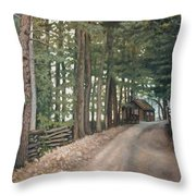 My Summertime Home Throw Pillow