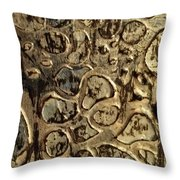 My Textured Stones A Throw Pillow