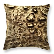 My Textured Stones C Throw Pillow