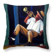 My Trumpet Throw Pillow