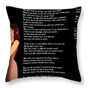 My Unborn Throw Pillow