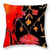 My Violin On Barcelona Shawl Throw Pillow