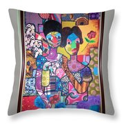 My Wife And I Throw Pillow
