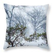 My Winter Love Throw Pillow