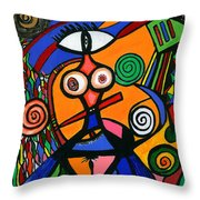 My Woman Throw Pillow