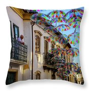 My Wonderful Street Throw Pillow
