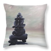 My Zen Throw Pillow
