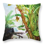 Myanmar Custom_01 Throw Pillow