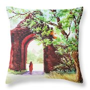 Myanmar Custom_010 Throw Pillow