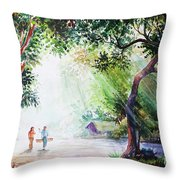 Myanmar Custom_011 Throw Pillow