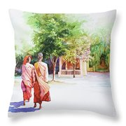 Myanmar Custom_013 Throw Pillow
