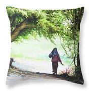Myanmar Custom_06 Throw Pillow