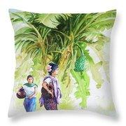 Myanmar Custom_08 Throw Pillow