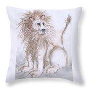 Mya's Lion Throw Pillow