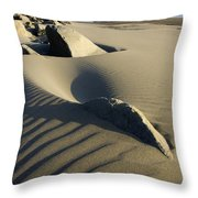 Myers Creek Beach Oregon 1 Throw Pillow