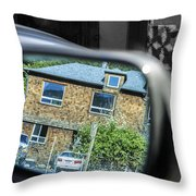 Myers Flat Hotel Throw Pillow