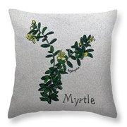 Myrtle Throw Pillow
