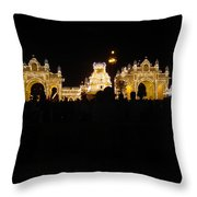 Mysore Palace 2 Throw Pillow