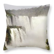 Myst Of The Water Throw Pillow