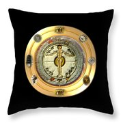 Mysteries Of The Ancient World By Pierre Blanchard Throw Pillow