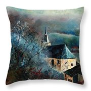Mysterious Chapel Throw Pillow