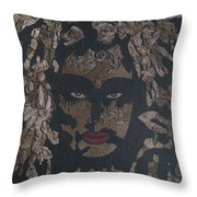 Mysterious Desire Throw Pillow