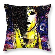 Mysterious Encounter Throw Pillow